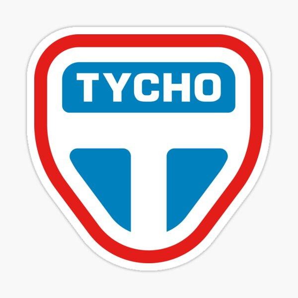 Tycho Simple Sticker Sticker