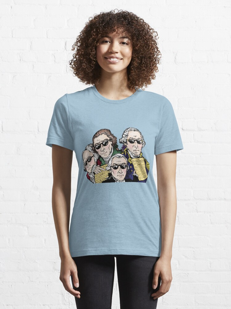Alternate view of Founding Father Dudes Essential T-Shirt