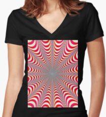Dizzy (full length) Women's Fitted V-Neck T-Shirt