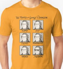 The Moods of George Washington T-Shirt