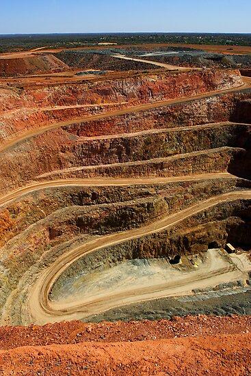 Cobar Gold Mine by Darren Stones