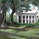 Louisiana Plantation by Carole Boyd