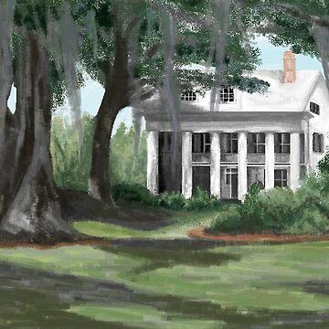 Louisiana Plantation by ckbesq
