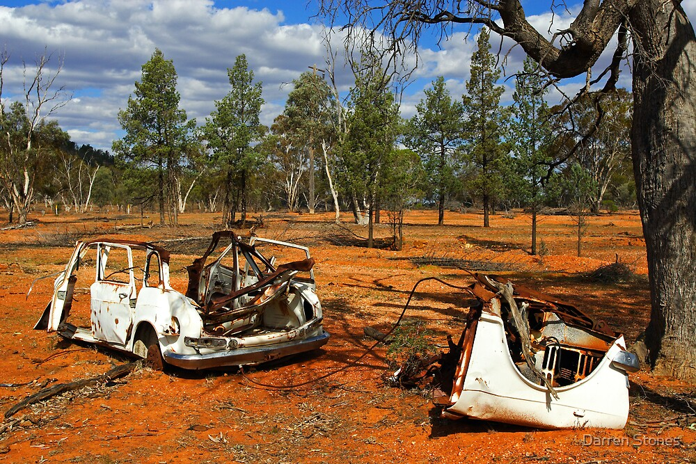 Australian Outback at Cobar by Darren Stones