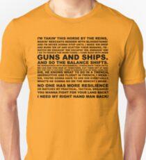 guns, ships Unisex T-Shirt
