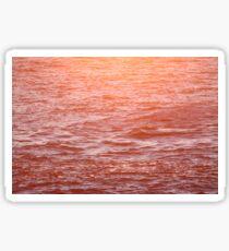 Red Water Sticker