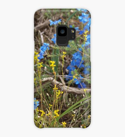 Lechenaultia and Branch Case/Skin for Samsung Galaxy
