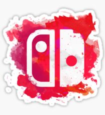 Switch Watercolor Sticker