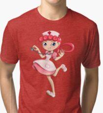 Nurse Joy Tri-blend T-Shirt