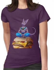 Food for Thought Womens Fitted T-Shirt