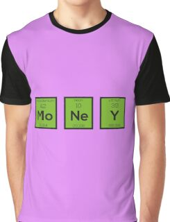 Money Chemical Element Funny R3z08 Graphic T-Shirt