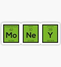 Money Chemical Element Funny R3z08 Sticker
