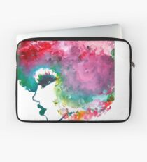 I Fall In Love With The Hair I'm Born With [Natural hair tees] T-Shirt Laptop Sleeve