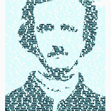 Edgar Allen Poe - The Raven Poem Retro T Shirt by djhypnotixx