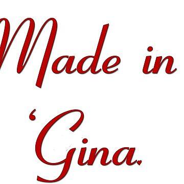 Huge 'Gina by alltallshade