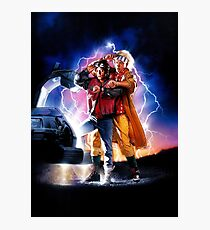 Back to the Future II Photographic Print