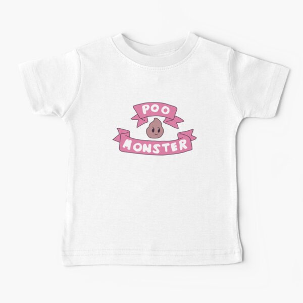Poo monster Baby T-Shirt