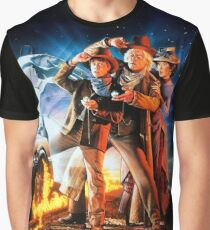 Back to the Future III Graphic T-Shirt