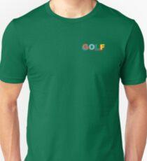 Multi-Color 3D Golf Wang Side Logo Unisex T-Shirt
