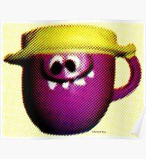 Goofy Grape Poster