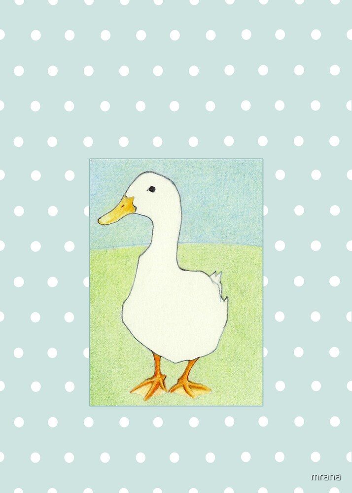 Duck Cool Dots by Mariana Musa