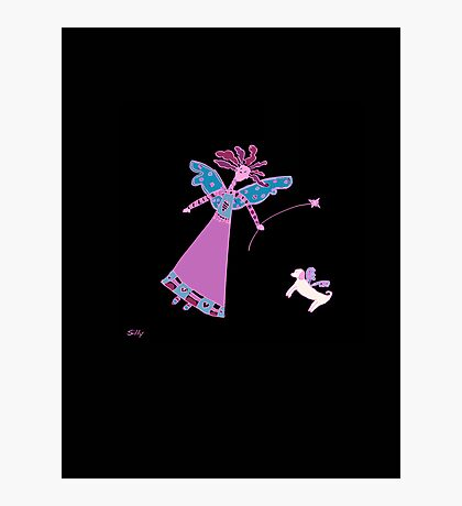 Silly Fairy Photographic Print