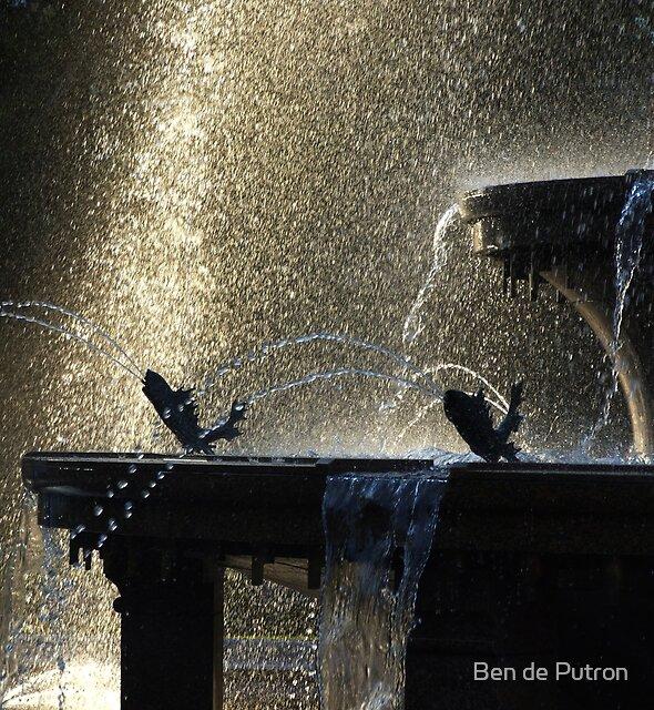 Hyde Park Fountain  by Ben de Putron