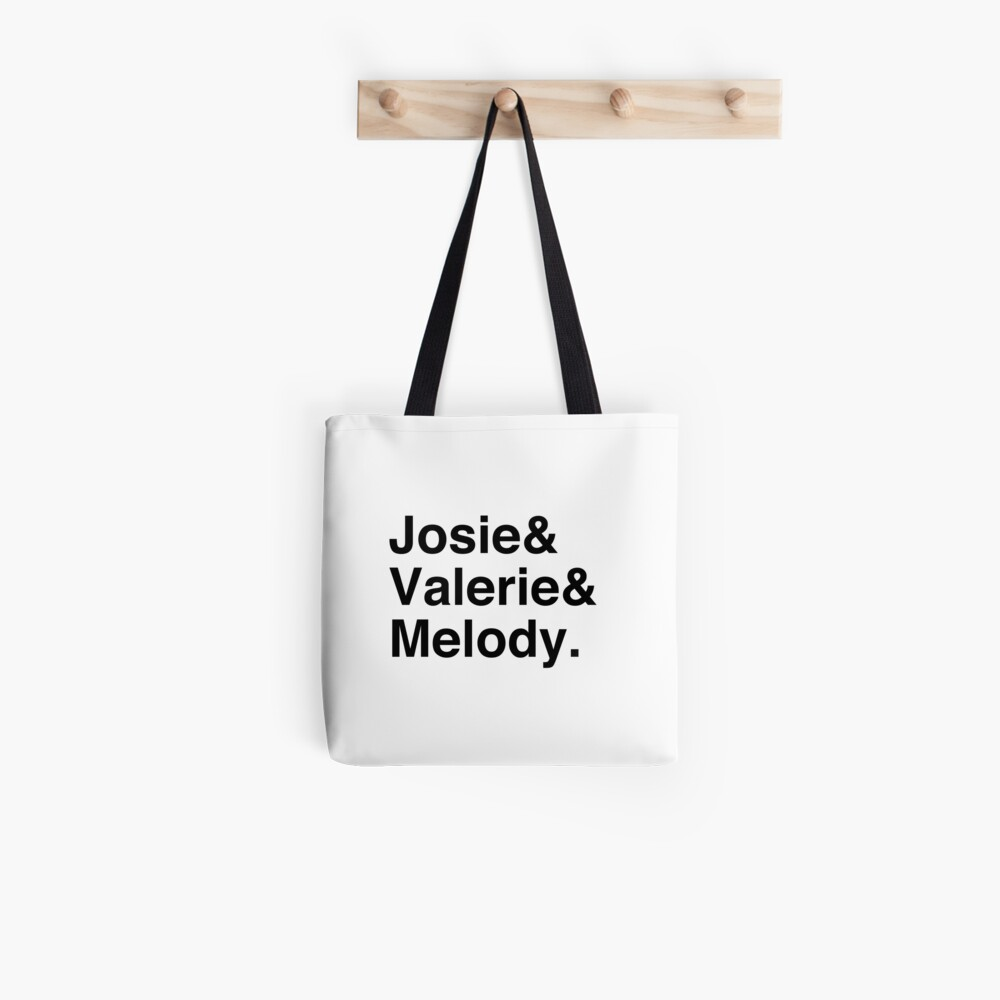 Josie and the Pussycats List Tote Bag