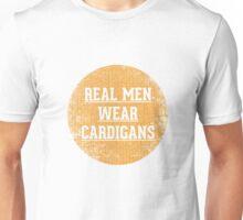 Real Men Wear Cardigans Unisex T-Shirt