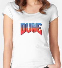 DUNE Women's Fitted Scoop T-Shirt
