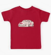 Crazy Car Art 0175 Kids Tee