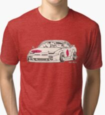 Crazy Car Art 0175 Tri-blend T-Shirt