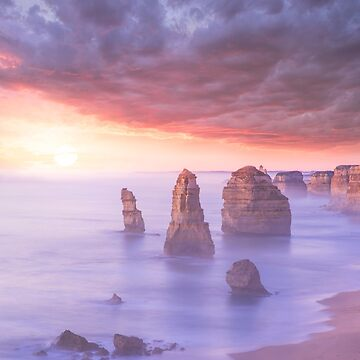 The Twelve Apostles - Australia by amorphousbeing