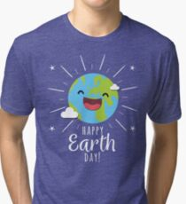 Happy Earth Day! April 22nd  Tri-blend T-Shirt