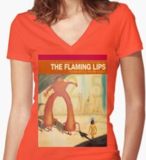 The Flaming Lips - Yoshimi Battles The Pink Robots Women's Fitted V-Neck T-Shirt