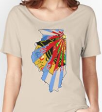 Illinois Blackhawks Women's Relaxed Fit T-Shirt