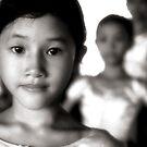 cambodian dancer by Tom  Cockrem