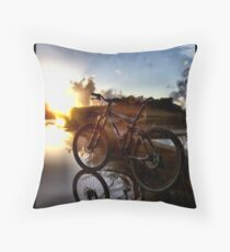 Wheels of Will Throw Pillow