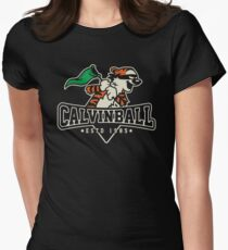 Calvinball Womens Fitted T-Shirt