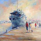 Williamstown pier (Victoria Australia) by Ivana Pinaffo