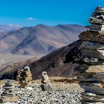 Stacking stones by kumaramrit