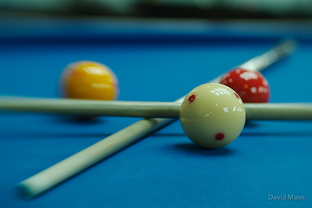 Balls and Sticks 4 by David Mann