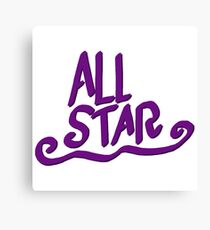 All Star Canvas Print