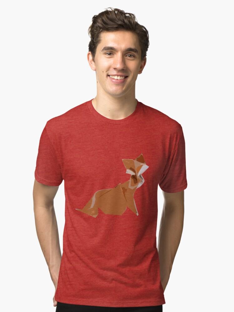 Fox 5 Tri-blend T-Shirt Front