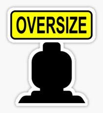Oversize Minifig Sticker