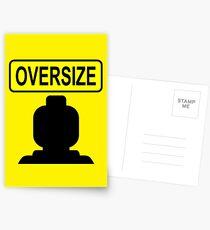 Oversize Minifig Postcards