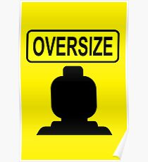 Oversize Minifig Poster