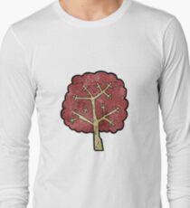 cartoon tree Long Sleeve T-Shirt