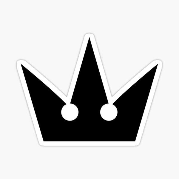 Couronne de Kingdom Hearts Sticker