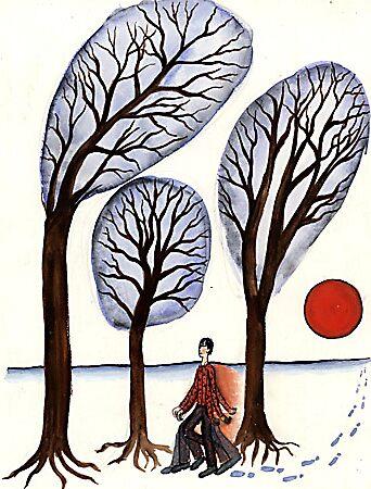 boy and trees by Amanda Suutari